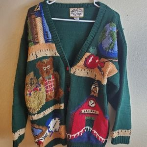 Vintage Heirloom Collectible Teacher Ugly Sweater